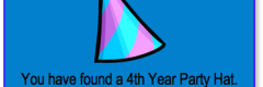 Thumbnail image for 4th Year Party Hat