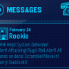 Thumbnail image for New EPF Message from Rookie