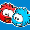 Thumbnail image for Red Puffle Pin and Blue Puffle Pins