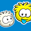 Thumbnail image for White and Yellow Puffle Pins