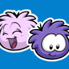 Thumbnail image for Purple and Pink Puffle Pins