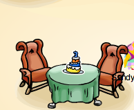 Club Penguin Secret - Anniversary Pin