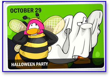 Club Penguin Halloween Party - October 29