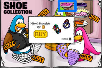 Club Penguin Mixed Bracelets