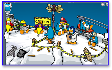Club Penguin Avalanche Rescue Mission