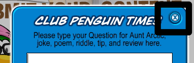Club Penguin Secrets Close Question Window
