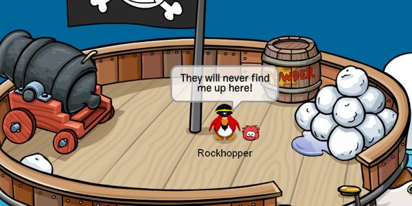Rockhopper Hiding