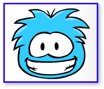Club Penguin Blue Puffle