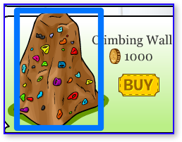 Club Penguin Climbing Wall