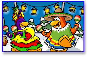 Club Penguin Fiesta Party