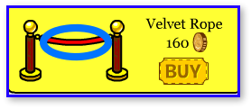 Club Penguin Velvet Rope