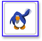 Wave Move action in Club Penguin