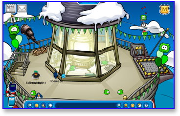 Club Penguin Puffle Party - Beacon