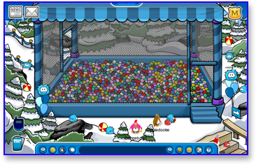 Club Penguin Puffle Party - Forest