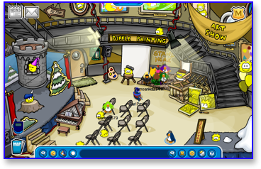 Club Penguin Puffle Party - Lighthouse