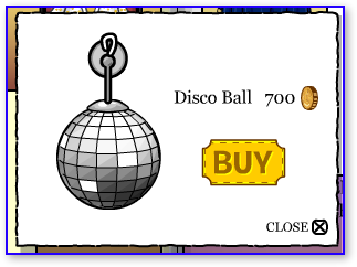 Club Penguin Disco Ball