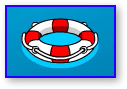 Club Penguin Hydro Hopper Life Preserver Ring