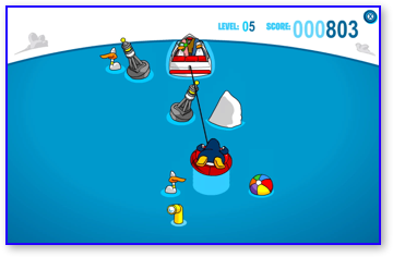 Club Penguin Hydro Hopper