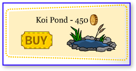 Club Penguin Koi Pond