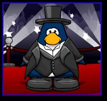 Club Penguin Tuxedo and Top Hat