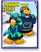 Club Penguin Clothing Catalog for April 2009