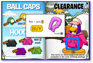 Club Penguin Boa