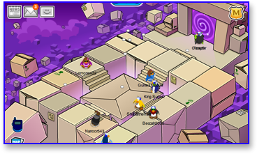 Club Penguin Box Dimension