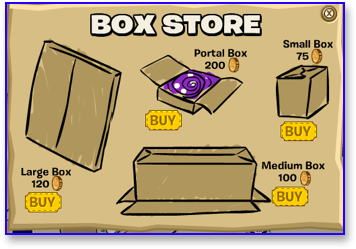 Club Penguin Box Store Boxes