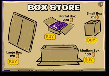 Club Penguin Box Store Boxes