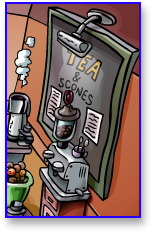 Club Penguin Coffee Shop Menu Board