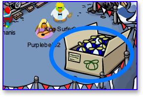 Club Penguin Blue Propellor Cap