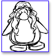Club Penguin Medieval Hair Preview