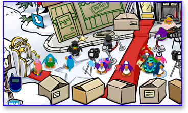 No penguin names at plaza