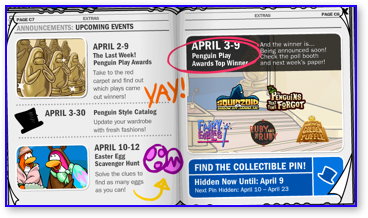 Club Penguin Newspaper Real Upcoming Events