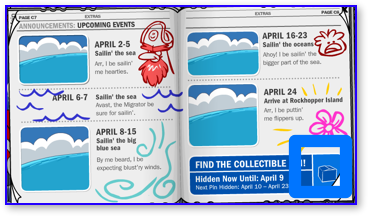 Club Penguin Rockhopper Upcoming Events
