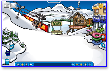 Club Penguin Ski Village