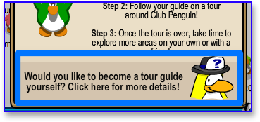 Become a Tour Guide in Club Penguin