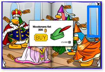 Club Penguin Woodsmans Hat