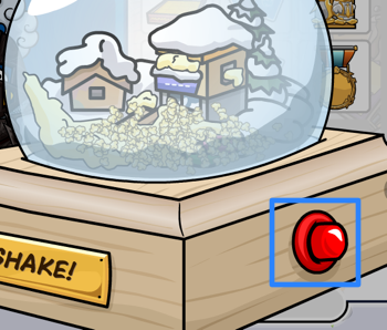 Club Penguin Snow Globe Gift