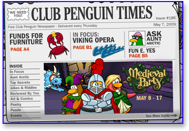 Post image for Club Penguin Times Issue 186