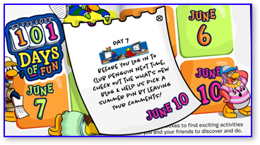 Post image for Club Penguin 101 Days of Fun: Day 7