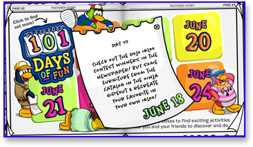 Post image for Club Penguin 101 Days of Fun: Day 15