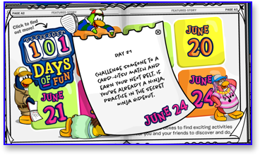 Post image for Club Penguin 101 Days of Fun: Day 21