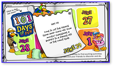 Post image for Club Penguin 101 Days of Fun: Day 26