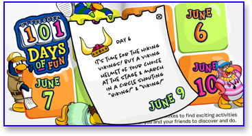 Post image for Club Penguin 101 Days of Fun: Day 6