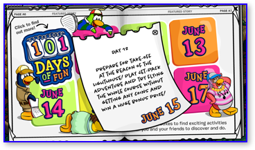Post image for Club Penguin 101 Days of Fun: Day 12