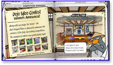 club-penguin-dojo-igloo-contest-winners