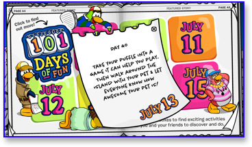 Post image for Club Penguin 101 Days of Fun: Day 40