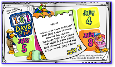 Post image for Club Penguin 101 Days of Fun: Day 29