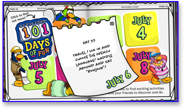 Post image for Club Penguin 101 Days of Fun: Day 33